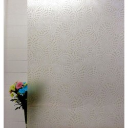 Gold Swirls Frosted Privacy Window Film
