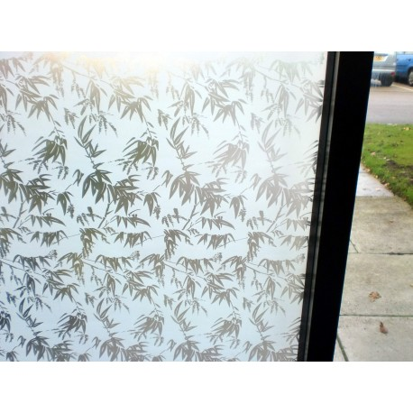 Leaves Whiteout Frosted Window Film